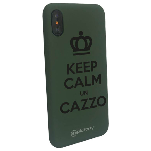 Cover per Iphone KEEP CALM UN CAZZO