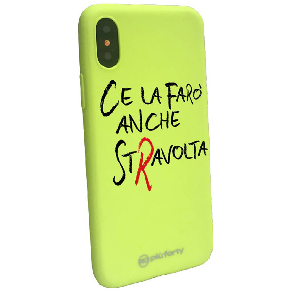 Cover per Iphone Ce la faro anche stravolta