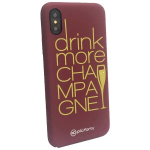 Cover per Iphone Drink More Champagne