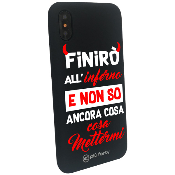 Custodia per Iphone Inferno