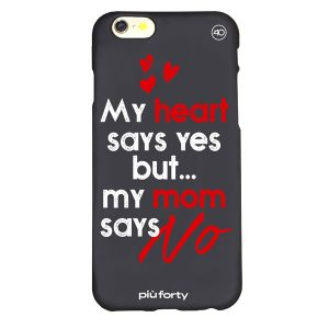 Cover per Iphone 5-6-7-8 My heart says