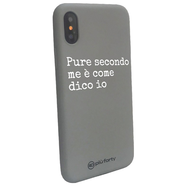 Cover per Iphone Pure secondo me è come dico io