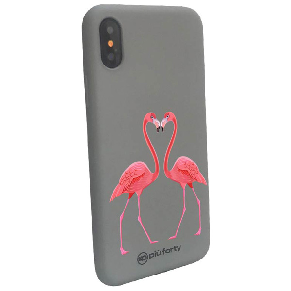 Custodia per Iphone Fenicotteri rosa