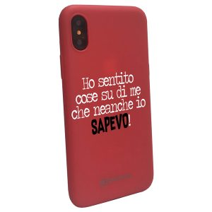 Custodia per Iphone Ho sentito